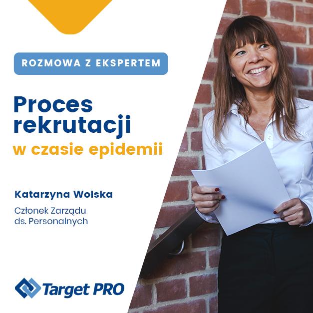 Katarzyna Wolska oaktualnej sytuacji narynku pracy.